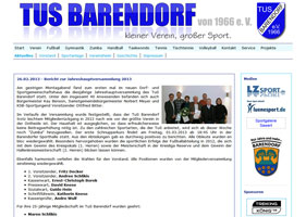 Bild: Website Turn- und Sportverein